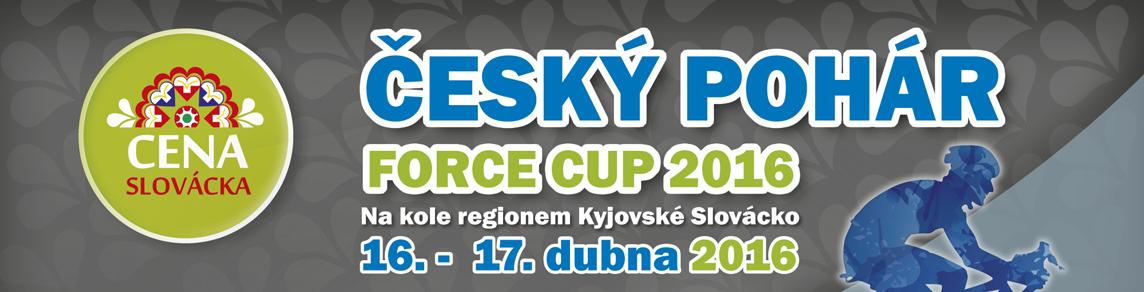 Český pohár Force Cup 2016 – Kyjov